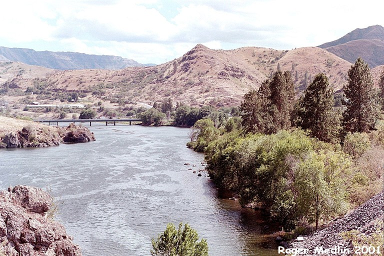 Snake River in Baker County, Oregon