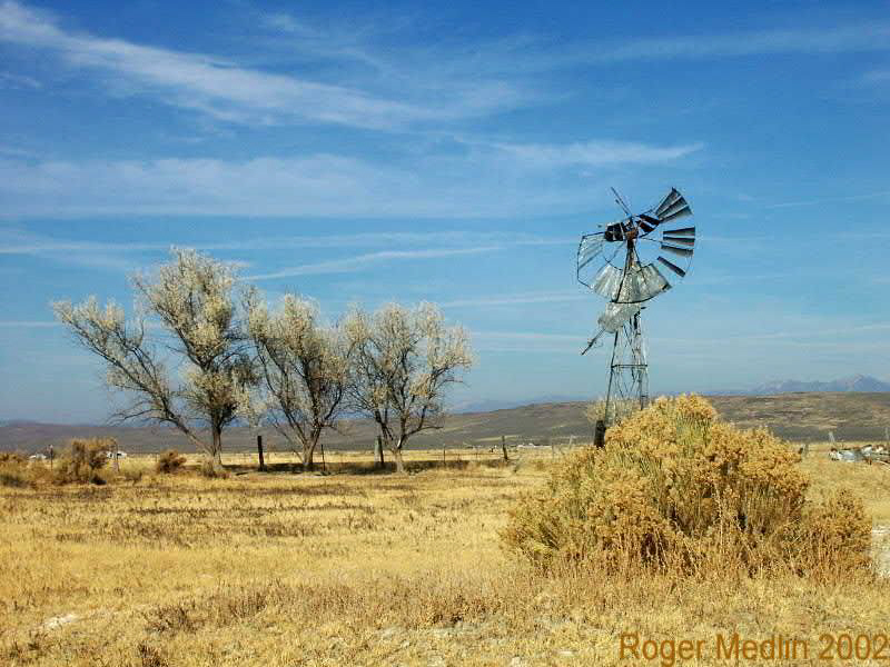 Old Wind Mill Baker Valley