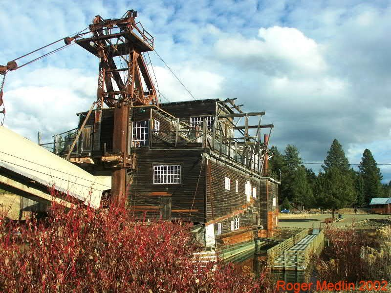 Sumpter Gold Dredge Sumpter, Oregon